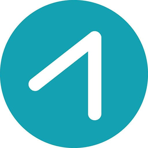 Circle logo of The Point Church in San Jose
