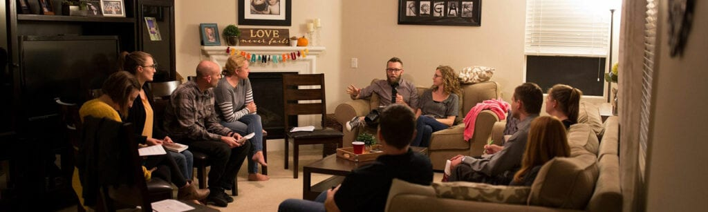 Small Group happening at The Point Church in San Jose