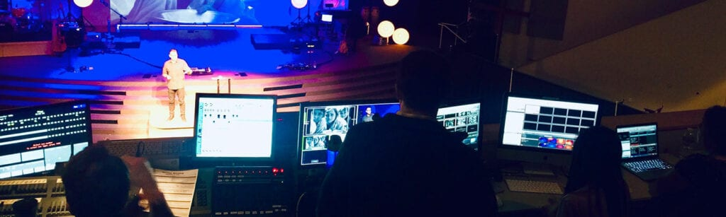 Media Tech Volunteers at The Point Church in San Jose